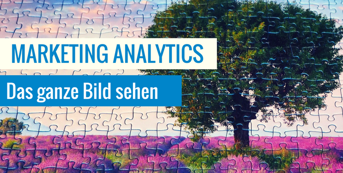 Marketing Analytics Komplettes Bild Marketing
